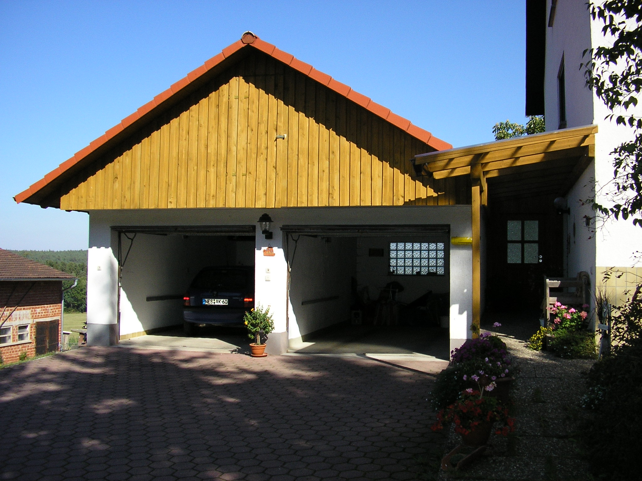 Balkon/Carport